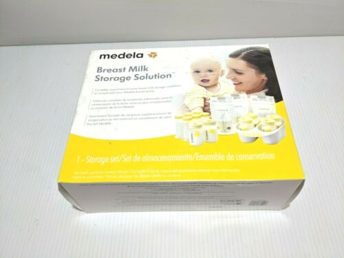 NEW Medela Breast Milk Storage Solution Set Breastfeeding Supplies & Containers