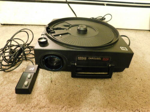 Kodak Carousel 650H Slide Projector - TESTED & Works - with Power cord