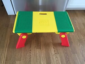 Vintage folding Lego table