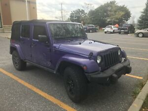 2016 Jeep Wrangler Unlimited LTD edition