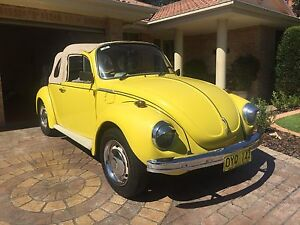 1973 VW Superbug Convertible Maryland Newcastle Area Preview