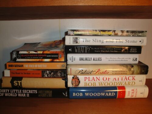 Military History, Strategy & War related Books Lot of 12