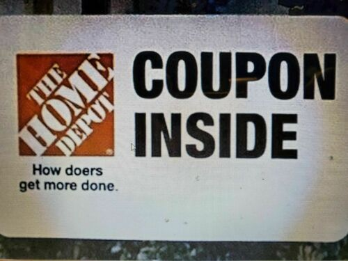 (2x)  Home Depot TwentyUSD Off w/ purchase of 200 Promotion Offer.Two Discount!