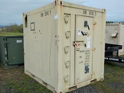 U.s.m.c. Refrigerated Container Unit