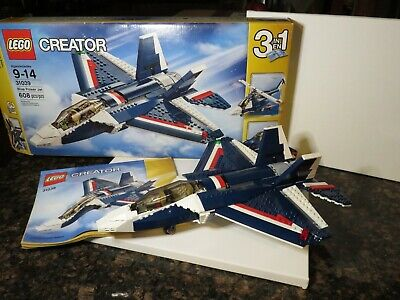 LEGO Creator 31039 Blue Power Jet 3 in 1 with Box and Instructions