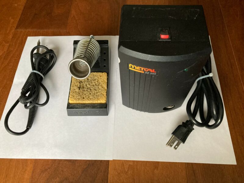 METCAL SP200 Soldering System SP-PW1-10 with Soldering Iron & Holder