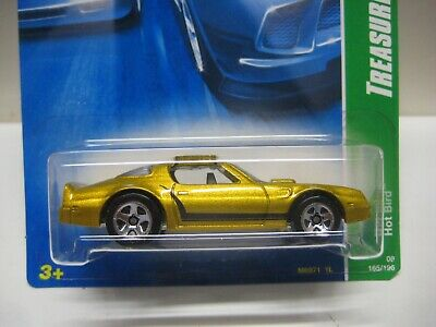 HOT WHEELS MINT ON CARD 2008 TREASURE HUNT PONTIAC HOT BIRD
