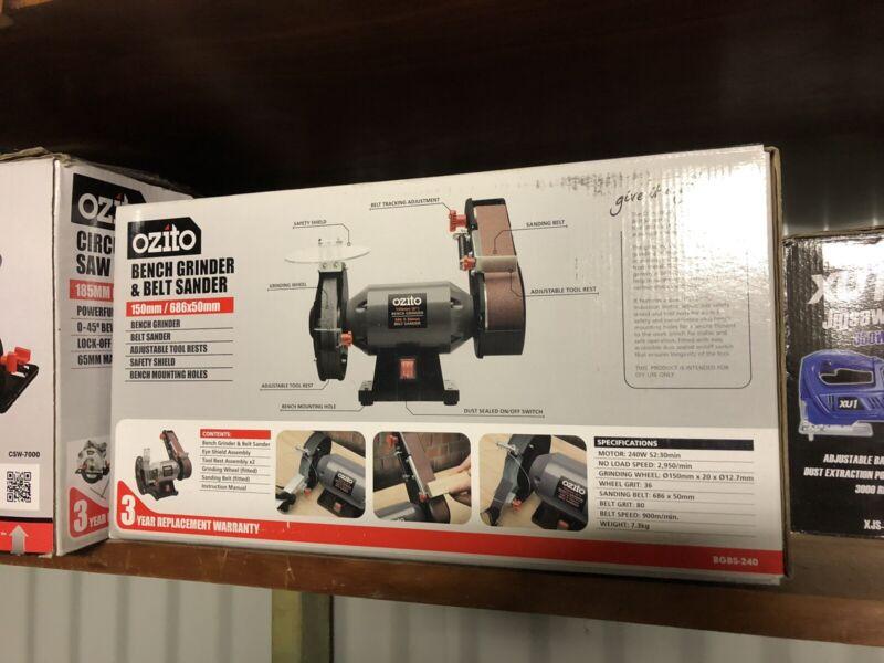 Fabulous Ozito Bench Grinder And Belt Sander Power Tools Gumtree Short Links Chair Design For Home Short Linksinfo