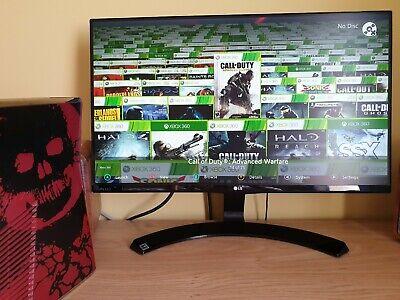 Rare Dual Nand (Stock + RGH/JTAG) Xbox 360 Slim (1.5TB) (Games Pre-installed)