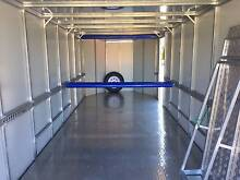 Fully Enclosed Motor Bike / Car Trailer 7m long white Carlingford The Hills District Preview