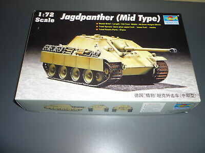 Trumpeter Bausatz, Jagdpanther, 1/72, neu in OVP