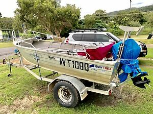 Boat, Motor and Trailer FOR SALE Cooktown Cook Area Preview