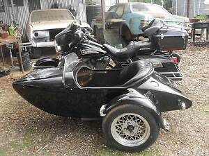 96 FLHT Harley Davidson with side car Rand Urana Area Preview