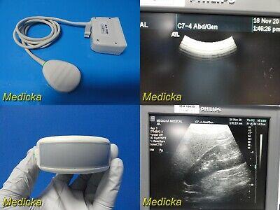 Atl C7-4 40r Ref 4000-0301-05 Curved Array Ultrasound Transducer Probe 23349