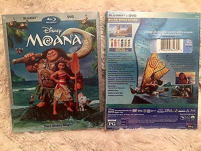 Moana Blu Ray   Dvd  Disney 2017  Brand New  Free Shiping  Family Fun