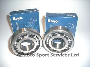 Crank Main Bearings Kawasaki KX 250 KX250 1987 to 2001