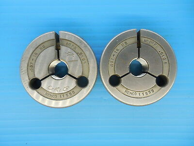 .557 18 Ns Thread Ring Gages Go No Go P.d.s .5191 .5136 Tooling