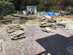 Sandstone flagging Double Bay Eastern Suburbs Preview