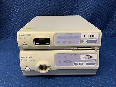 Olympus Cv-180 Processor Clv-180 Light Source System W Keyboard