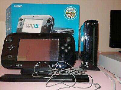 Nintendo Wii U Premium Pack 32GB Mario Land Bundle - Nero