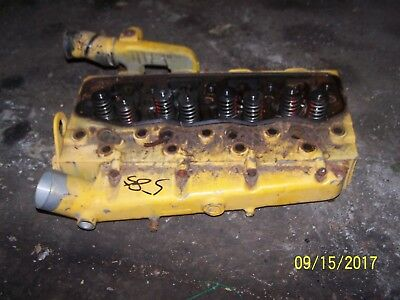 Case International 584585 Tractor Diesel Engine Head Only Not Intake Manifold