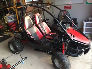 Trades? Side by side 600cc dune buggy