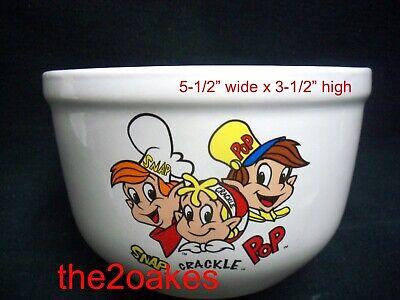 Kelloggs SNAP CRACKLE POP Ceramic Cereal Bowl 5-1/2
