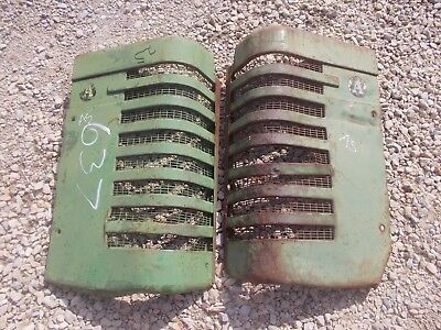 John Deere A Styled Tractor Orignl Jd Front Nose Cone Grill Hood Panel Panels A5