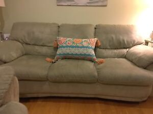 Perfect condition sofa and love seat set- Canadian made