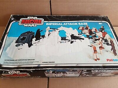 Vintage Palitoy 1980s Star Wars Imperial Attack Base + Original Box