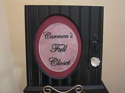 Carmen's Full Closet
