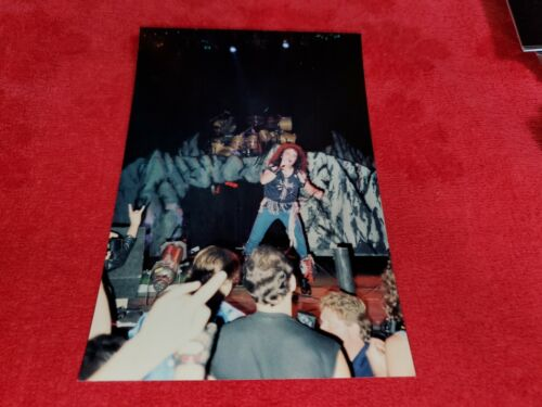 VINTAGE RONNIE JAMES DIO PHOTO CONCERT PHOTO TAKEN BY ME EARLY 1980s #8