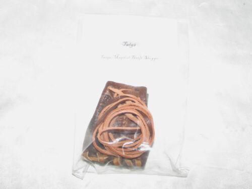 Mini Handmade Leather Medicine Bag Wicca Pagan