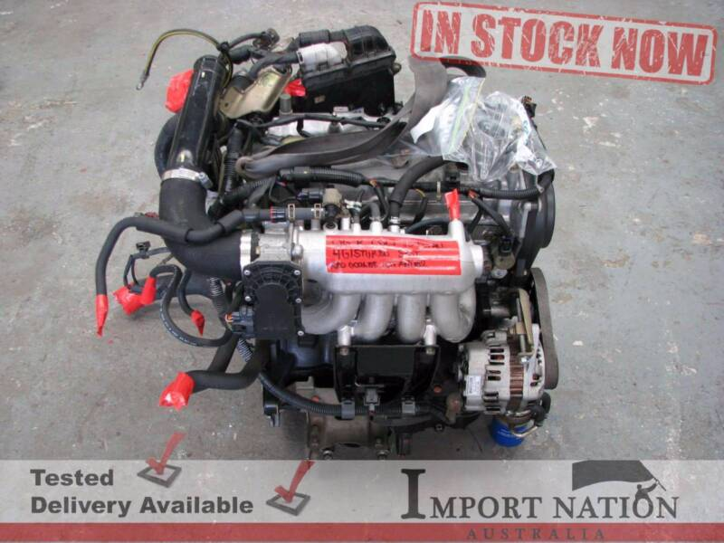 Mitsubishi Ralliart Colt 4G15 Turbo Engine Package - Tested