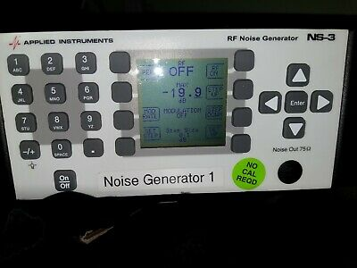 Applied Instruments Rf Noise Generator Ns-3 Tested