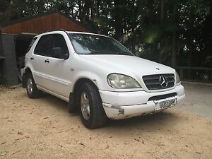 2001 Mercedes-Benz 320 SUV Bayview Pittwater Area Preview