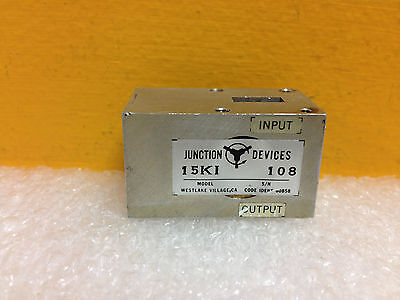 Junction Devices 15ki Wr-42 18 To 26.5 Ghz 10 Db Isolator