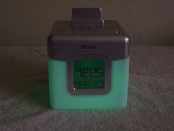 iHome iHM28 colorful radio, clock, alarm and mp3 audio player.