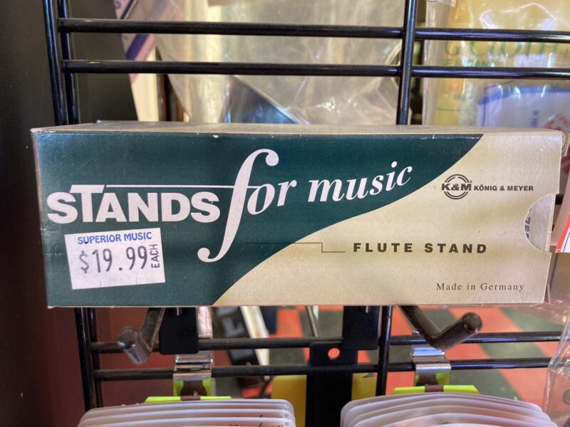 Flute Stand (new In Box! )