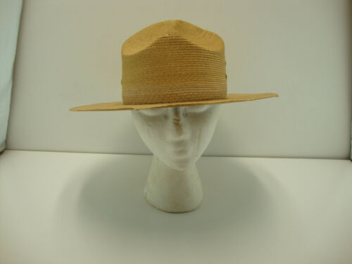STRAW CAMPAIGN HAT RANGER STYLE OR LAW ENFORCEMENT QUALITY HAT