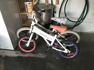 Little girls bikes