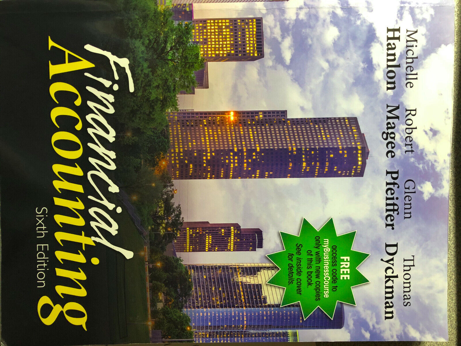 FINANCIAL ACCOUNTING 6th Edition 978-1618533111 - $170.00