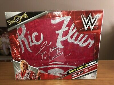 Ric Flair Robe Costume (WWF WWE WCW NATURE BOY RIC FLAIR SIGNED AUTOGRAPHED JAKKS WRESTLING ROBE)