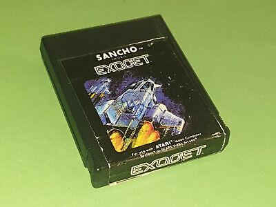 Exocet Atari 2600 VCS Game Cartridge - Sancho
