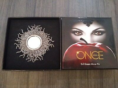 Once Upon A Time OUAT Evil Queen Magic Mirror Pin Brooch Disney - Evil Queen Ouat