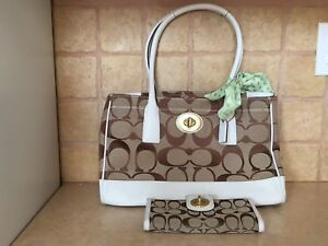 Coach Purse and Wallet (matching)