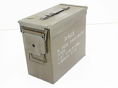 Excellent Condition  Tall 10In 50 Cal Ammo Can N463 Fuse Box