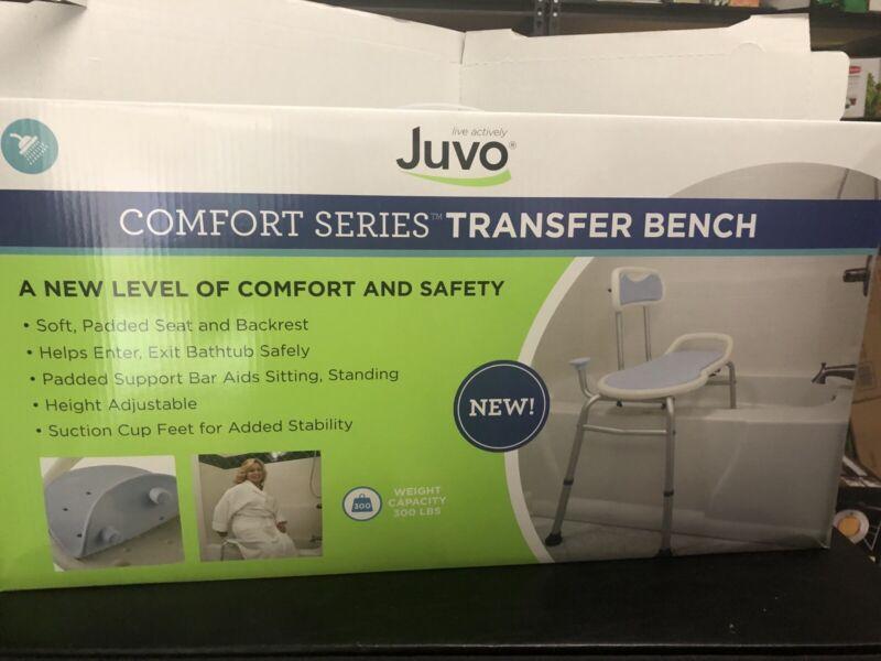 Juvo Bathtub Comfort Series Transfer Bench, 300 Lbs Weight Capacity
