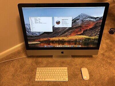 """iMac Mid 2011 A1312 27"""" 3.4GHz i7 16GB RAM 500GB SSD 1TB High Spec GPU Replaced"""