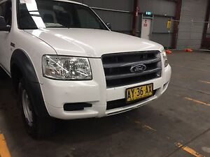 2008 Ford Ranger XL 4X2 turbo diesel Automatic dual cab Ute Sandgate Newcastle Area Preview